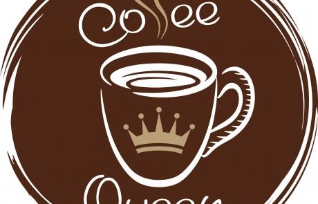 Coffe Queen Brown logo