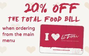 LaTasca Restaurant Liverpool Loyalty