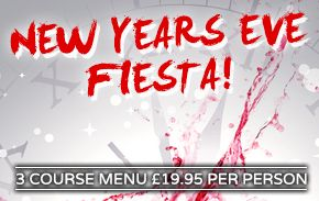 La Tasca Restaurant Liverpool New Years Eve