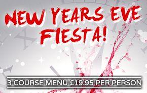 La Tasca Restaurant Liverpool New Years Eve