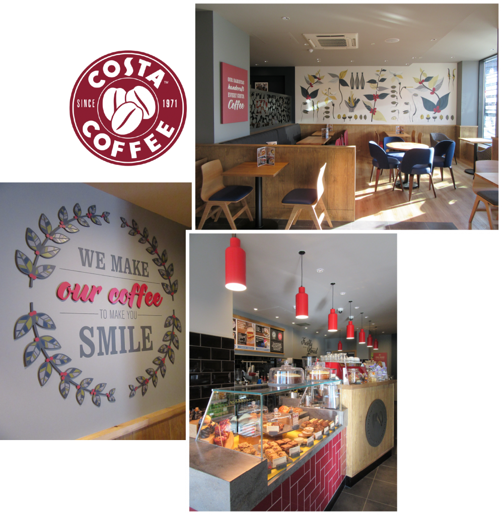Costa Coffee Queen Square Liverpool