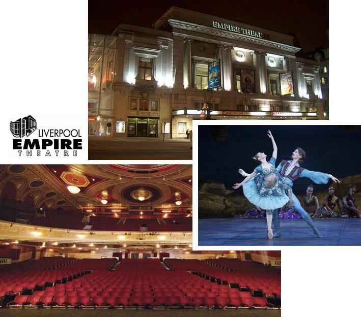 Leisure Queen Square Liverpool Empire theatre