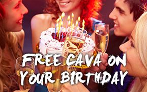 La Tasca Restaurant Liverpool Free-Cava-Birthday