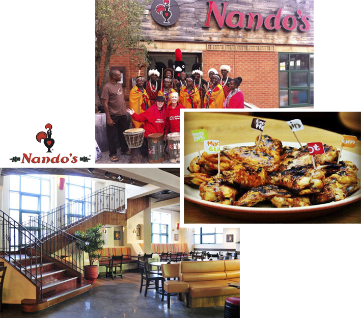 Restaurants Liverpool - Nando's Queen Square