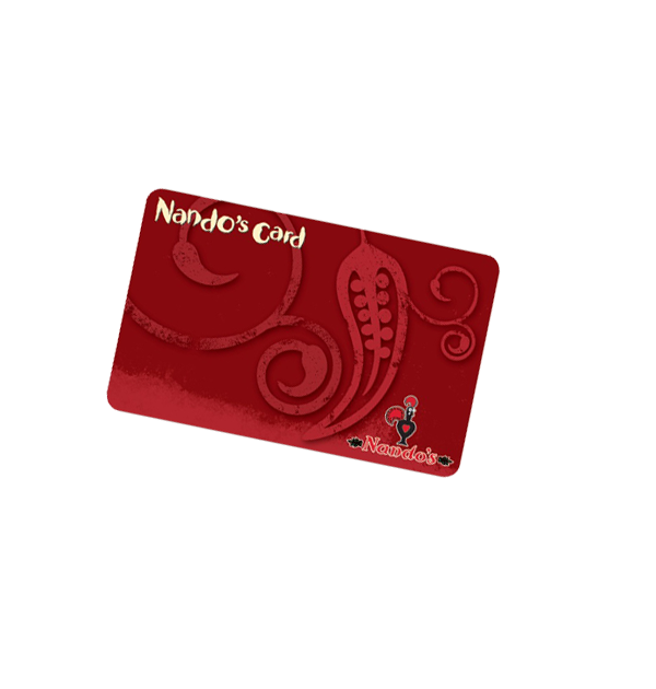 Nandos Queen Square Loyalty Card