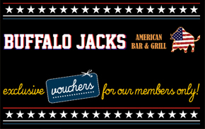 Buffalo jacks restaurant offers queen square - Buffalo american bar and grill ...