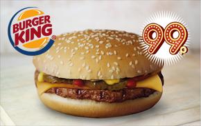 Burger King Liverpool Cheeseburger