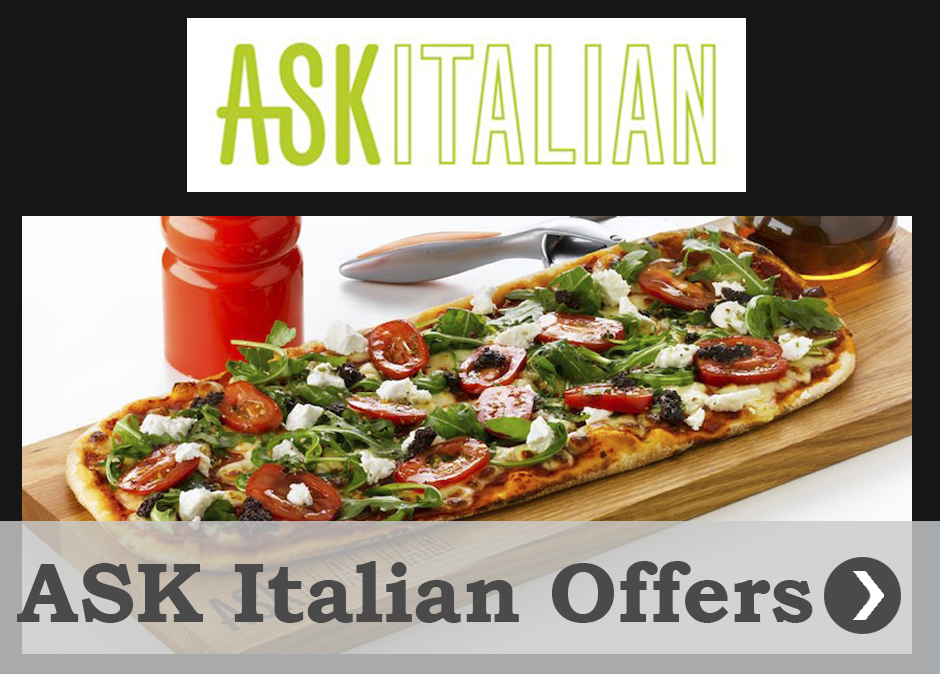 Offers and promotions ASK Italian Queen Square
