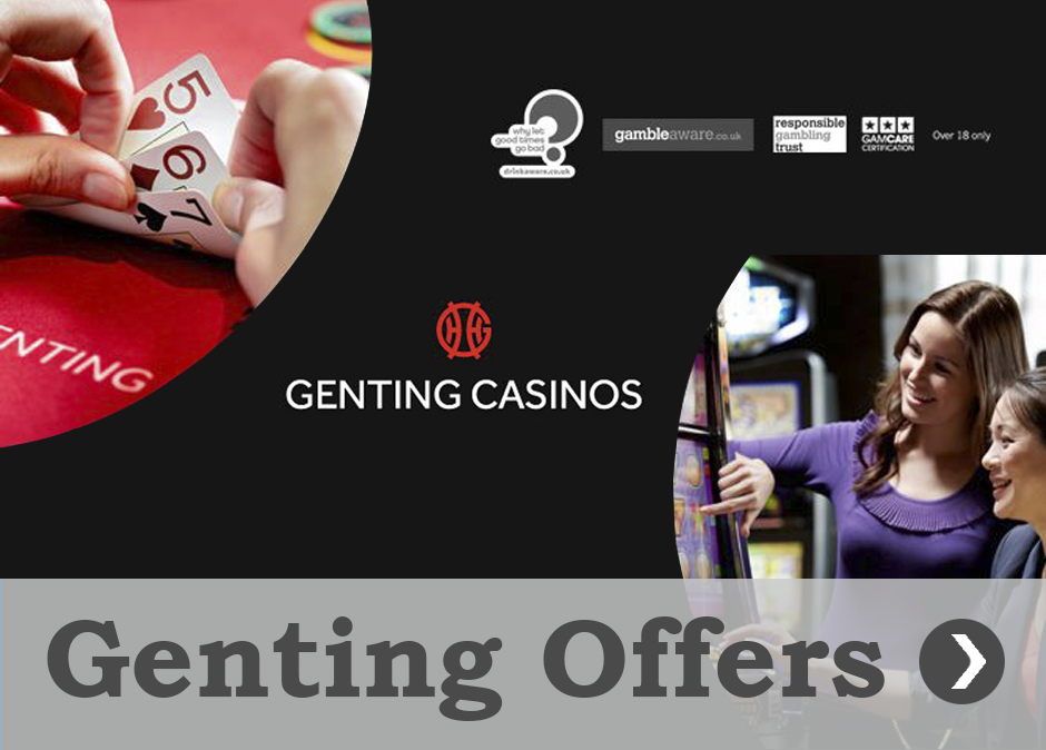 Offers and promotions Genting Casinos Queen Square