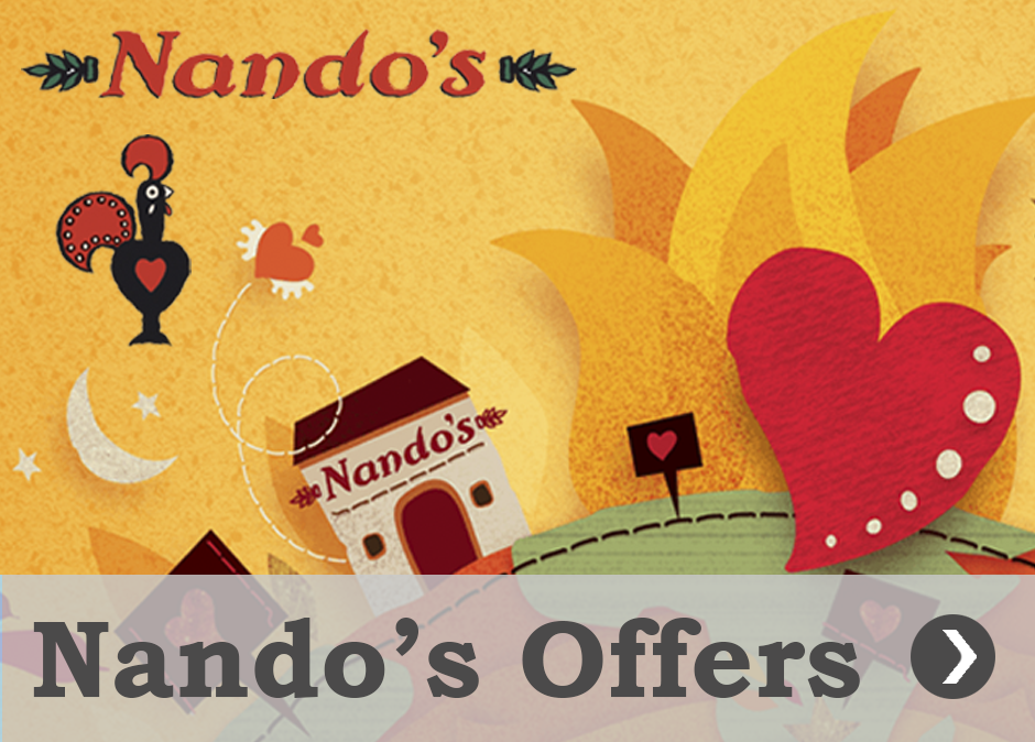 Offers and promotions Nando's Queen Square