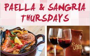 La Tasca Restaurant Liverpool Paella_Sangria_Thursdays