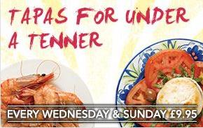La Tasca  Restaurant Liverpool Tapas Under 1Pound