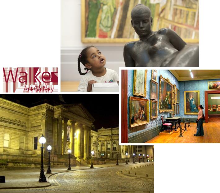 Leisure Queen Square Liverpool Walker Art Gallery