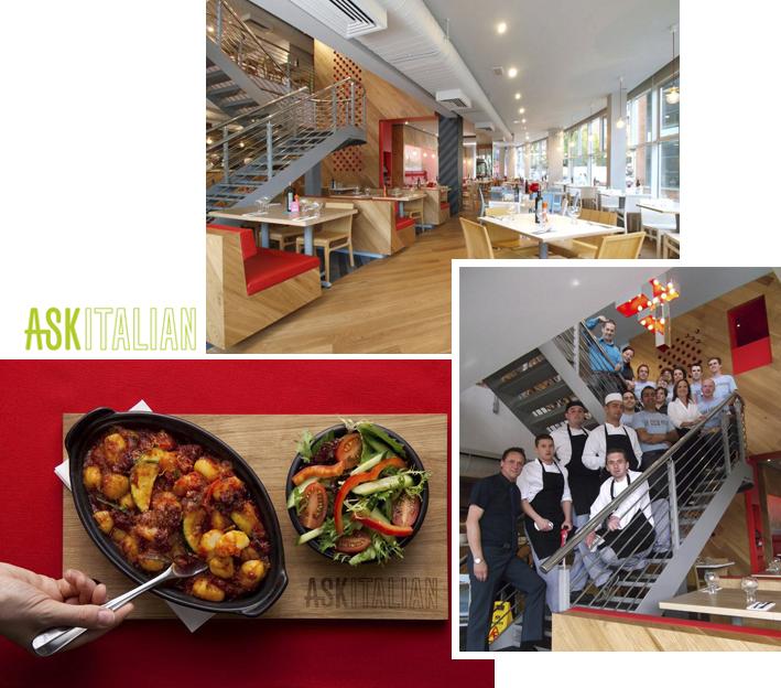 Restaurants Liverpool - ASK Italian Queen Square