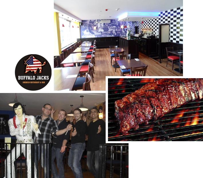 Restaurants Liverpool - Buffalo Jacks Queen Square