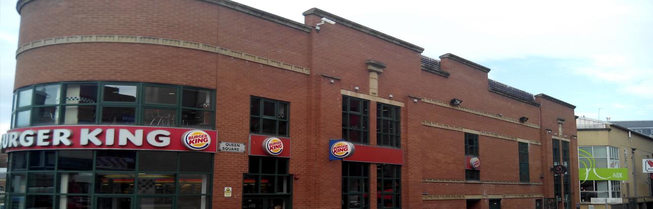 Restaurants Liverpool - Burger King Queen Square
