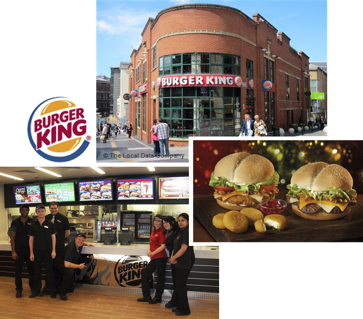 Restaurants Liverpool - Burger King Queen Square