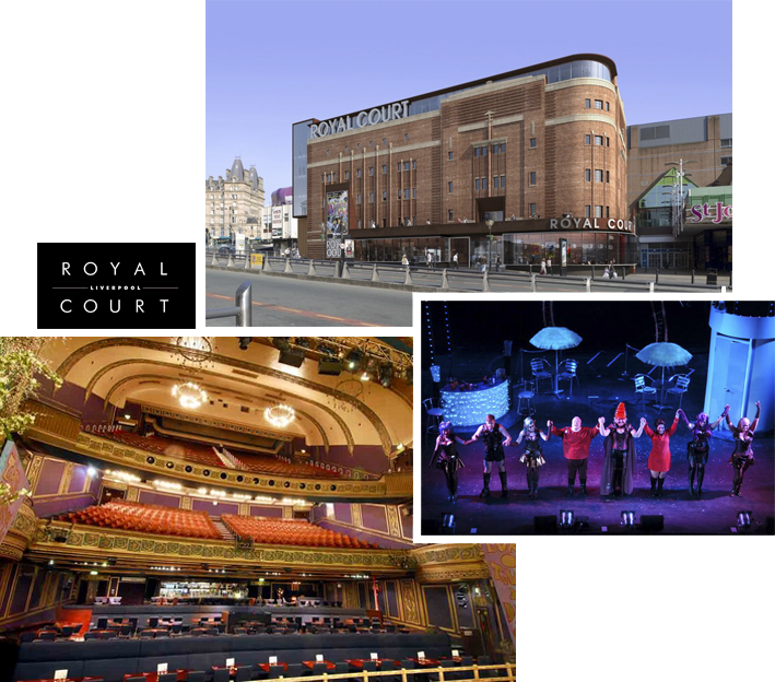 Leisure Queen Square Liverpool royal Court theatre