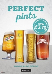 Liverpool Pubs offers – Yate's Queen Square