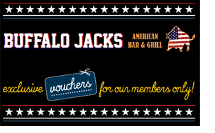 Liverpool Restaurant offers – Buffalo Jacks Queen Square