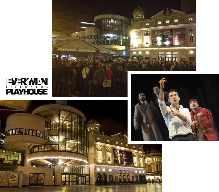 Leisure Queen Square Liverpool Playhouse theatre